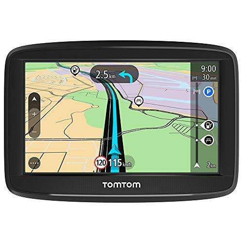 TomTom Navigationsgerät Start 42 (4,3 Zoll, Karten-Updates Europa, Fahrspurassistent, TMC, umkehrbare Halterung)