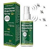 Insetto Repellente,Repellente Zanzare,Repellente Antizanzare,Repellente Spray,Repellente Insetti,Spray naturale repellente per insetti anti zanzare per piante uomo donna, bambino