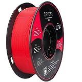 Filament PLA 1.75mm, ERYONE PLA Filament 1.75mm, Imprimante 3D Filament PLA Pour Imprimante 3D, 1kg 1 Spool,Rouge