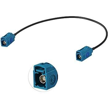 Aktiver DAB und UKW Antennenverteiler f/ür vorhandene Fahrzeugantennen; zum Anschluss von DAB DIN Buchse und SMB Anschluss Antenne n/ötig; DIN Stecker Radios oder Navis; KEINE zus/ätzliche DAB