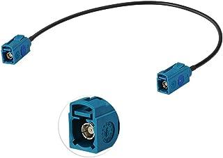 "Eightwood Fakra Z Kabel Fakra Adapter Fakra""Z"" Vrouw-Vrouw Autoradio Verlengkabel RG174 1ft 30cm voor DAB Antenne GPS Ante..."