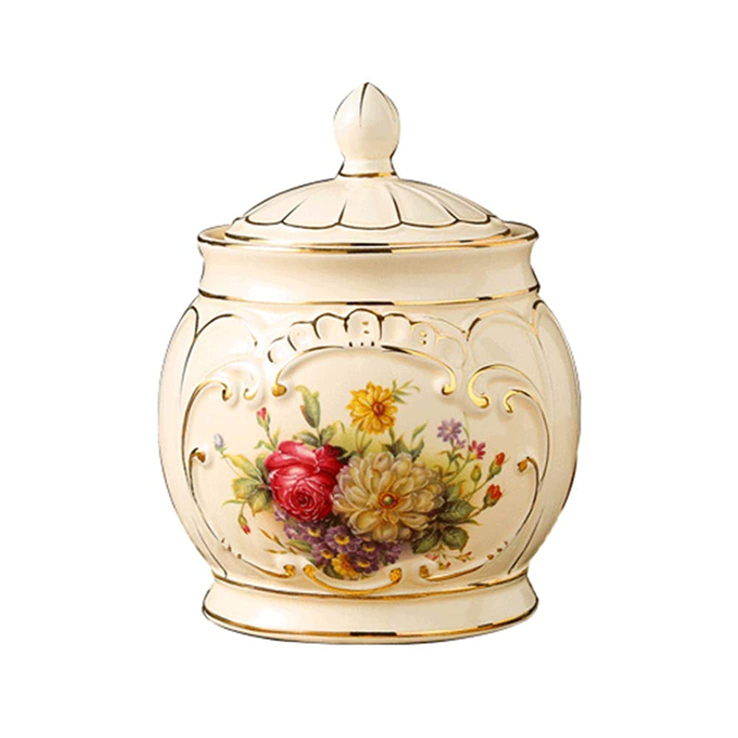 回転する後世講堂アッシュ缶動物記念祭壇陶芸手作り湿気から密封灰の保管用