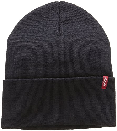 cappello levis donna Levi's New Slouchy Beanie W Red Tab Detail