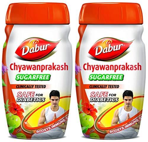 Dabur Chyawanprakash sugar free - 500 g & Dabur...