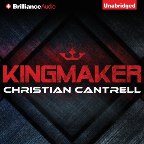 Kingmaker audiobook cover art