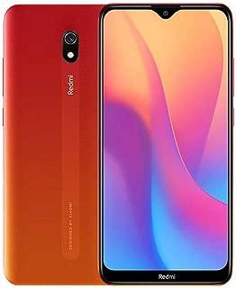 """Xiaomi Redmi 8A  Smartphone, 6.2"""", Dual SIM, 32GB, 2GB RAM - Sunset Red"""