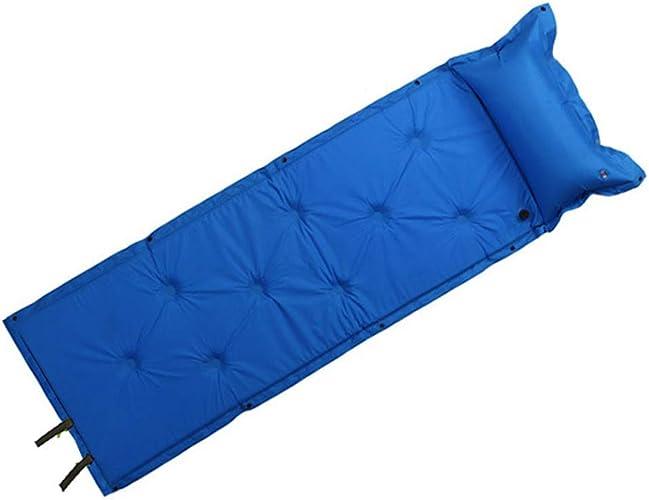 WETERS Matelas De Couchage Individuel Camping Home Ultralumière Compact Air Pad Matelas Gonflable Léger De Couchage Matelas De Randonnée Extérieur portable,bleu