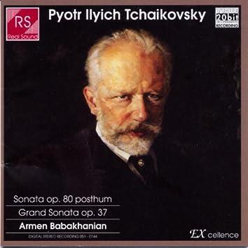 Piotr Ilyich Tchaikovsky : Piano Sonata In C Sharp Minor Op.80, Grand Sonata In G Major Op.37