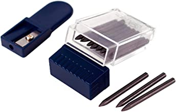 Looneng Lead Pointer Sharpener and 2mm Compass Leads Set