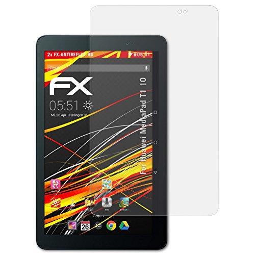 Schutzfolie kompatibel mit Huawei MediaPad T1 10 Displayschutzfolie, HD-Entspiegelung FX Folie (2X)