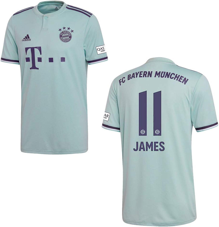 2019 Herren Away Bayern Adidas James Trikot 11 e2075nlzr2760