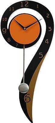 YHEGV Quartz Wall Clocks Wall Clock Minimalist Modern Lounge Mute Mode of Horlogerie