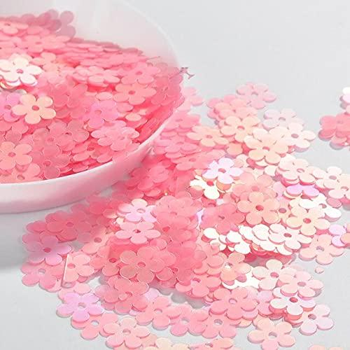 YANME 10 g/pack de lentejuelas mate 6 colores 7 mm flor plana lentejuelas sueltas Paillettes costura boda artesanía mujeres prendas DIY accesorios