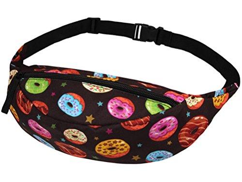 Bunte Donuts Gürteltasche Bauchtasche Tasche