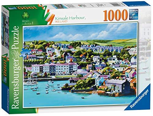 Ravensburger Irish Collection n. 1 Kinsale Harbour, County Cork, Irlanda, puzzle da 1000 pezzi, per adulti e bambini dai 12 anni in su