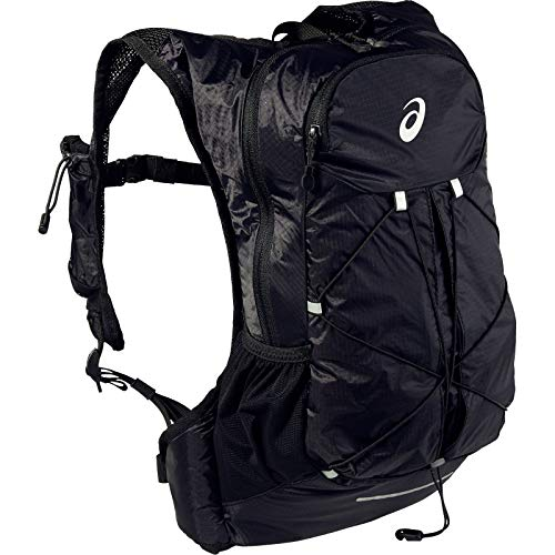 ASICS Unisex-Adult 3013A149-014 Backpack, Black, One Size