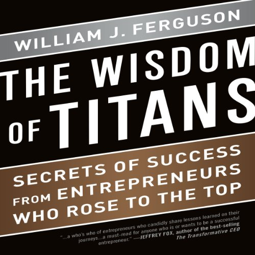 The Wisdom of Titans audiobook cover art