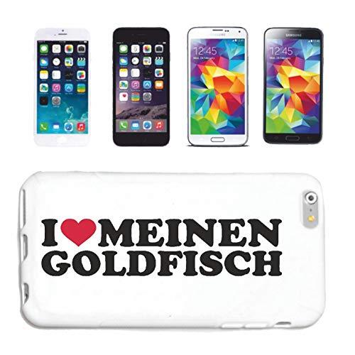 Helene telefoonhoes compatibel met Samsung Galaxy S3 Mini I Love mijn goudvis aquarium vissen RUBFISCH ZIERFISCHHardcase beschermhoes telefoonhoes Smart Cove
