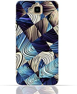 Huawei Y6 Pro/Honor Play 5X / Enjoy 5 TPU Silicone Case With Digital Art Abstract Pattern