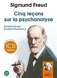 Cinq leçons sur la psychanalyse (cc) Audio livre 2 CD Audio 1 h 53 - Audiolib - 17/03/2010