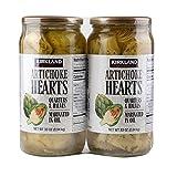 Kirkland Signature Artichoke Hearts Sliced Halves & quarters Marinated in oil Heart Healthy
