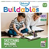 Skillmatics Buildables: Sketching Machine (8-99 Years) | Stem Learning, Educational and Construction Wood Activity Toy | Gifts for Boys and Girls Ages 8 and Up, Multicolor