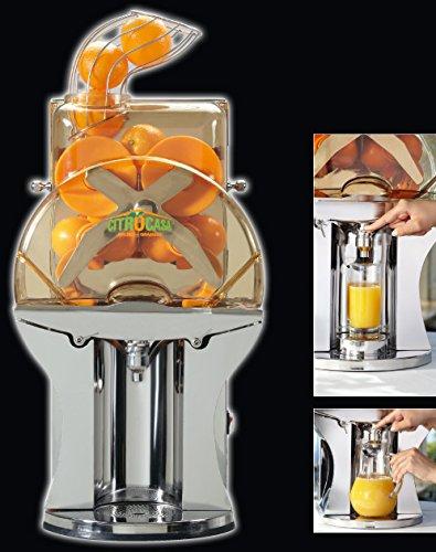 Exprimidor automático -Acero inoxidable-