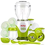 Nuby Garden Fresh Mighty Blender with Cook Book, 22 Piece Baby Food...