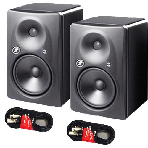 Read About Two Mackie HR824MK2 High Resolution Active Studio Monitors New