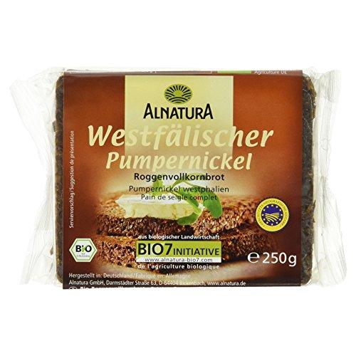 Alnatura Bio Westfälischer Pumpernickel, 11er Pack (11 x 250 g)