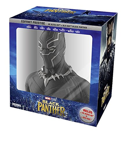 Black Panther - Coffret exclusif Amazon + 4K - Marvel [Blu-ray]
