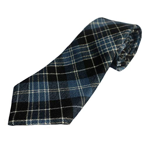 Ingles Buchan Mens Scottish Wool Tartan Tie Clark Ancient
