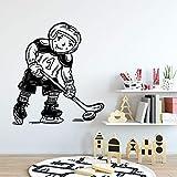 wZUN Pegatinas de Pared de Patinaje Creativo Papel Pintado de la habitación de los niños jardín de Infantes decoración de la habitación calcomanía 68x75cm