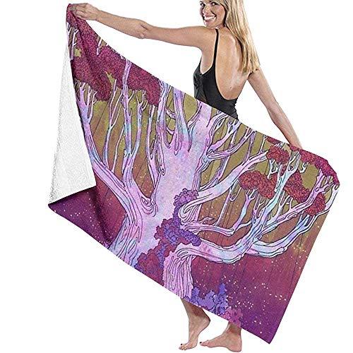 Badhanddoek wikkel boom in de palm van je hand drukt Womens Spa douche en wikkel handdoeken zwemmen badjas
