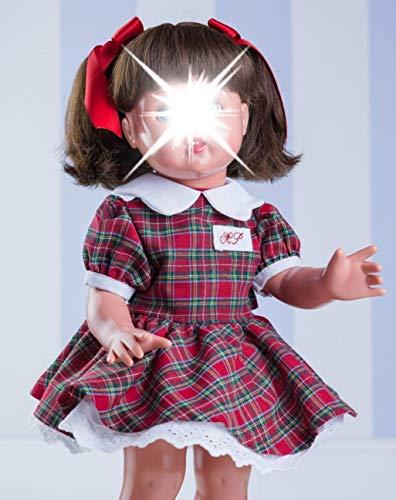 Lieveheersbeestje lieveheersbeestje Schotse ruit rood/groen aanvullingen, kleur jurk voor eigen design (standaard speelgoed, Maripe sl 1)