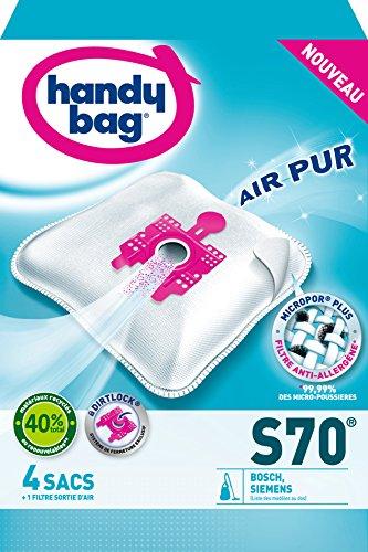 Handy Bag S70 Staubsaugerbeutel für Bosch, Arriva, Siemens, Smily Super SX