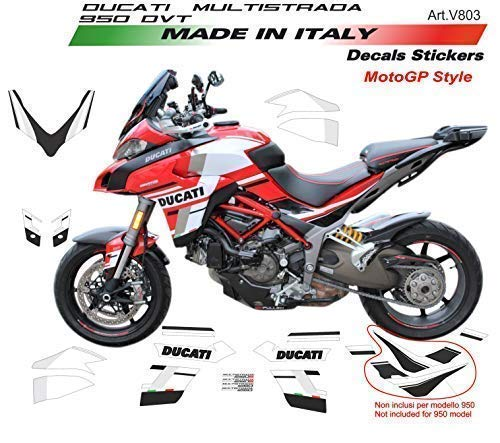 Vulturbike Sticker Set Für Ducati Multistrada 950 DVT Design Motogp 18