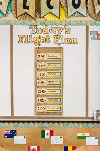 """Teacher Created Resources Travel The Map Bold Block 4"""" Letters Combo Pack (TCR8575) Photo #3"""