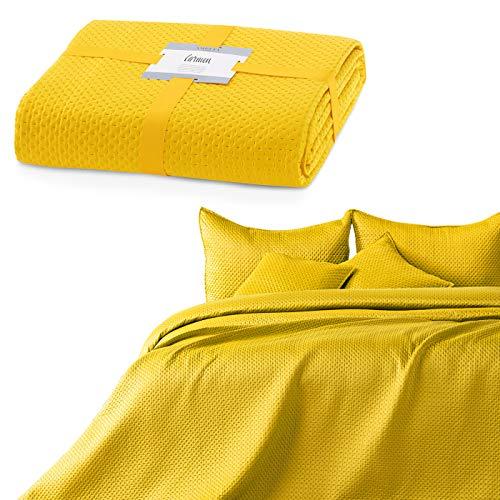 gult överkast ikea