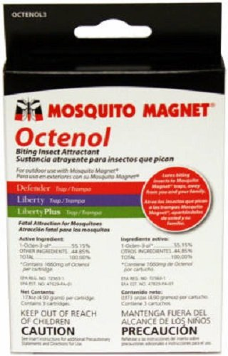 Mosquito Magnet Octenol 3 3 Pack Biting Insect Attractant - Quanity 2