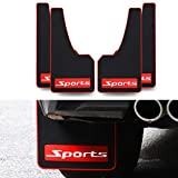 saitake Mud Flaps, Car Wheel Mud Splash Guard, Front and Rear Fender, Easy Fit for Toyota Vios 2004-2018 Sport 4PCS