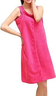 9576151013 BecauseOf Women s Soft Microfiber Spa Wrap Towel