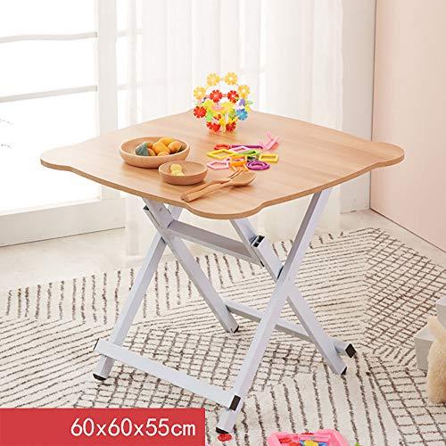 QJJML Klapptisch, Kinder Esstisch, Kinder Lernen Picknicktisch, Leicht Zu Tragen,D