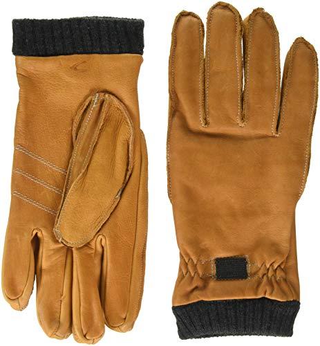 camel active Herren 408350/2G35 Handschuhe, Braun (Cognac 21), Large (Herstellergröße: L)