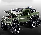 DDTETDY Monster Trucks High Speed Die-Cast Buggy Functions Coches De Juguete Coleccionables Off-Road Car Puertas Que Se Abren con Música Interior Detallado Niños Niñas Vacaciones Cumpleaños GIF