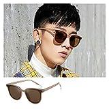 SSN Versión Coreana De La Conducción De Moda Red Mirror Piloto Gafas De Sol Celebrity Street Gafas De Sol Gafas De Sol Femenino Celebridad Mismas Gafas (Color : B)