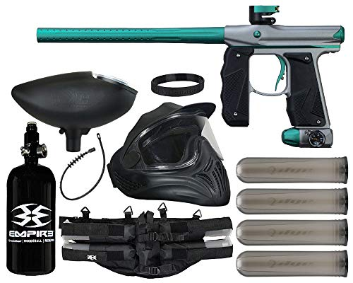 Action Village Empire Mini GS Paintball Gun Legendary Package Kit (Dust Grey/Dust Teal)