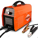 ETOSHA MMA Welder 200Amp Digital Inverter DC Welder 110V 220V IGBT Hot Start Portable Welding Machine Electrode Holder,Work Clamp, Input Power Adapter Cable and Brush