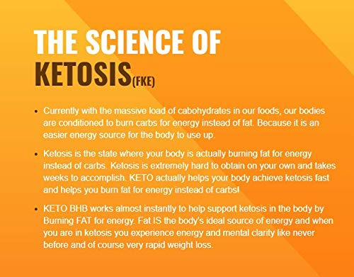 Best Exogenous Ketones - Keto Salts - Advanced Weight Loss - Help to Induce Quicker ketosis - Sodium Beta Hydroxybutrate - Burn Fat in Ketosis and Reach The Ultra Apex Keto Pinnacle of Fat Burn - BHB 3