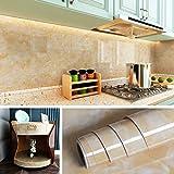 Livelynine Arbeitsplatten-Papier, Küchen-Esstisch-Abdeckung, Badezimmer-Wand-Dekoration, Küche,...